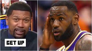 Jalen Rose reacts to ESPN.com's Lakers all-time starting five: Should LeBron be in there? | Get Up
