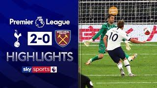 Harry Kane seals win as Spurs chase top four | Tottenham 2-0 West Ham | Premier League Highlights
