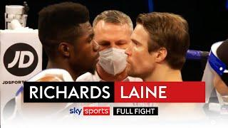 FULL FIGHT! Lerrone Richards dominates on his Matchroom debut | Richards vs Timo Laine