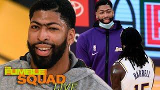 Anthony Davis Is Sick & Tired Of Montrezl Harrell Constantly Trolling Him About Being TOO Famous