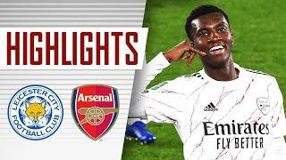 HIGHLIGHTS   Leicester City vs Arsenal (0-2)   Carabao Cup