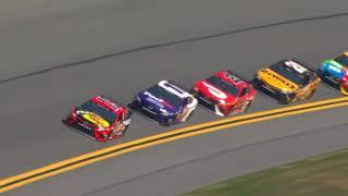 NASCAR Cup Series first practice from Daytona | Daytona 500 | Video only - No audio