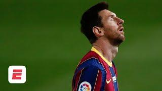 Even the GOAT Lionel Messi struggles to do everything for Barcelona - Laurens | ESPN FC