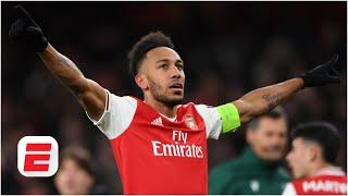Mikel Arteta 'confident' that Pierre-Emerick Aubameyang will stay at Arsenal | ESPN FC