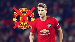 The crazy reason why Manchester United didn't want to sign De Ligt | Oh My Goal