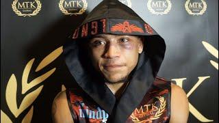'I WANTED TO BEAT JAY & HEAD FOR JULIO MARTINEZ' - MARCEL BRAITHWAITE REACTS TO JAY HARRIS LOSS