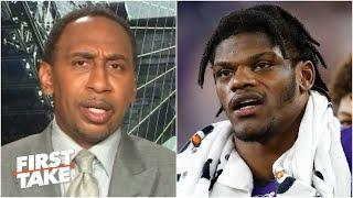 Stephen A. explains why Lamar Jackson isn't a top-2 QB in the NFL | First Take