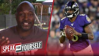 Lamar committing to passing more shows maturity, talks Stidham — Wiley | NFL | SPEAK FOR YOURSELF