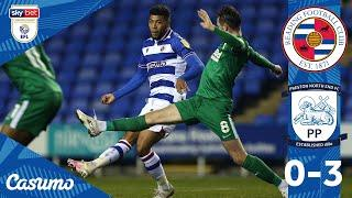 READING 0-3 PRESTON   Royals punished in second half by Lilywhites
