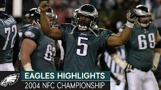 Eagles Finally Get Over the Hump: Eagles vs. Falcons, 2004 NFC Championship   Eagles Highlights