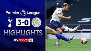 Harry Kane brace dents Foxes' Champions League dreams | Tottenham 3-0 Leicester | EPL Highlights