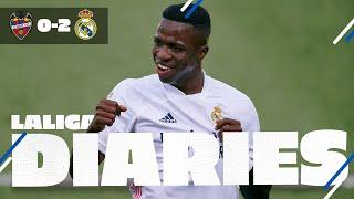 Levante 0-2 Real Madrid | Vinicius and Benzema take us top!