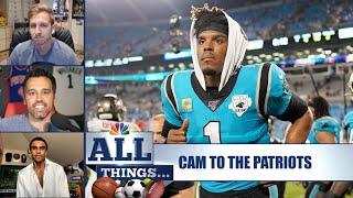 All Things...Cam Newton signing with the Patriots | All Things Ep. 8 | NBC Sports