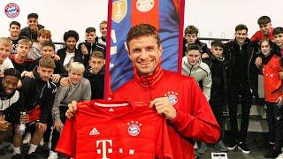 How to deal with pressure? Advice by Müller, Gnabry & Goretzka for the talents of FC Bayern Campus
