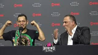 AND THE NEW! NONITO DONAIRE POST FIGHT PRESS CONFERENCE AFTER DESTROYING OUBAALI & WINNING WBC TITLE
