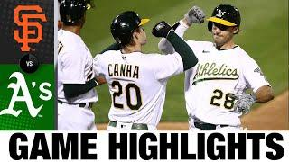 A's punch postseason ticket with shutout of Giants | Giants-Athletics Game Highlights 9/18/20