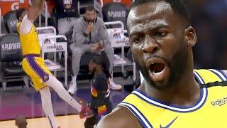 """Draymond Green Reacts To AD's Groin Kick, BLASTS People Who Called Him """"Dirty"""" For Same Move"""