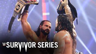 Full Survivor Series 2020 Highlights: (WWE Network Exclusive)