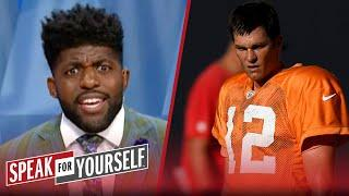 Don't buy the hype! Brady & Bucs aren't ready for Brees & Saints — Acho | NFL | SPEAK FOR YOURSELF