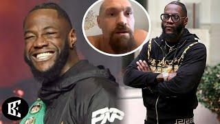 (WHOA!): DEONTAY WILDER FORCED TYSON FURY TO RETIRE OR FIGHT HIM! WILDER KO'D TEAM FURY   BOXINGEGO