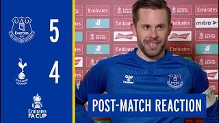 EVERTON 5-4 TOTTENHAM | GYLFI SIGURDSSON'S FA CUP REACTION