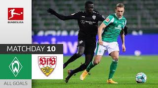 Silas knocks out Werder! Werder Bremen - VfB Stuttgart | 0-2 | All Goals | Matchday 10 – Bundesliga