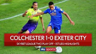 Super free kick gives Colchester the edge! | Colchester 1-0 Exeter | League 2 Play Off Highlights