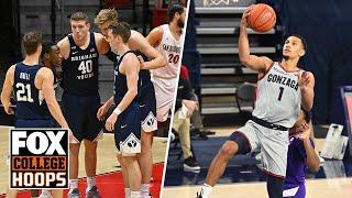 BYU is trending up & Gonzaga remains on top of college basketball — Andy Katz | FOX COLLEGE HOOPS