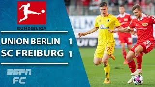 Union Berlin and SC Freiburg split the points in 1-1 draw | ESPN FC Bundesliga Highlights