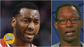 The Wizards did John Wall 'dirty' and fans are not happy - Clinton Yates | The Jump