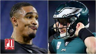 Are the Eagles antagonizing Carson Wentz by drafting Jalen Hurts? | Pardon the Interruption