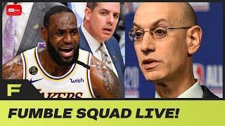 Adam Silver Adopting FIFA World Cup Style Group Stage But NBA Players Are NOT FOR IT! | Fumble Live!