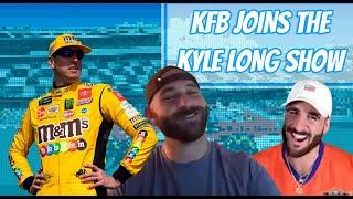 K.F.B -- aka Kyle Busch -- and iRacing champ Nick Ottinger join The Kyle Long Show | NASCAR