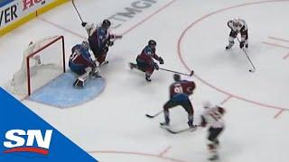 Michael Grabner Picks Up Loose Puck, Walks In & Whips Puck Past Philipp Grubauer