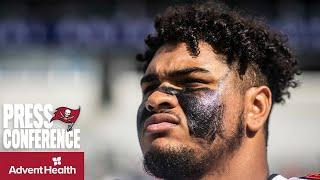 Tristan Wirfs on Facing Aaron Donald & the Rams   Press Conference