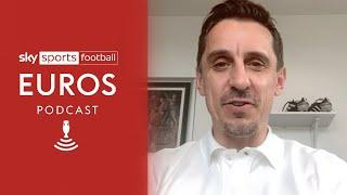 Gary Neville on England's Euros chances & if transfer talk will affect Harry Kane | Euros Podcast