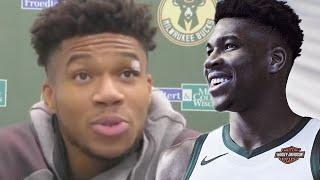 Giannis Admits He Signed Supermax Because He Didn't Want Milwaukee Bucks Fans Burning His Jersey
