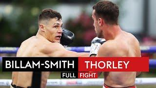 FULL FIGHT! Chris Billam-Smith blasts out Nathan Thorley with HUGE KO!