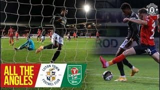 All the Angles.| Marcus Rashford v Luton Town | Carabao Cup | Manchester United