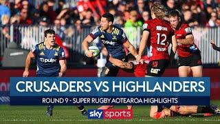 Crusaders vs Highlanders | Can Crusaders clinch the Super Rugby Aoteroa title? | Highlights