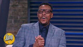 Paul Pierce reacts to being named a Basketball Hall of Fame Class of 2021 nominee | The Jump