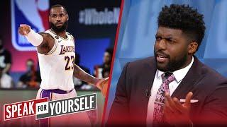 I'm convinced LeBron will win his 4th ring after clinching WC — Acho | NBA | SPEAK FOR YOURSELF