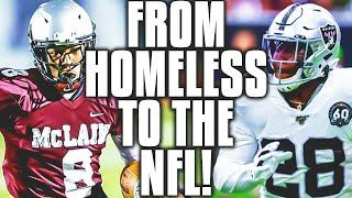 Here's How Oakland Raiders RB Josh Jacobs went from HOMELESS to the NFL