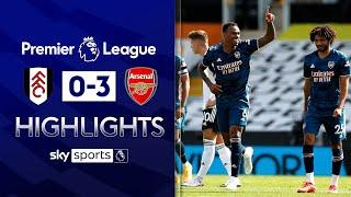 Gabriel grabs debut goal as Arsenal ease to victory! | Fulham 0-3 Arsenal | EPL Highlights