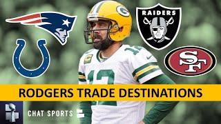 Aaron Rodgers Trade Rumors: Top 7 NFL Teams That Could Trade For Packers QB Ft. Raiders & 49ers