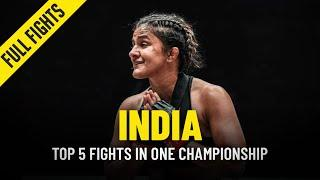 Top 5 Indian Athlete Fights In ONE Championship