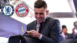 Unseen footage: The day before Chelsea vs. Bayern | Lucas Hernandez Interview