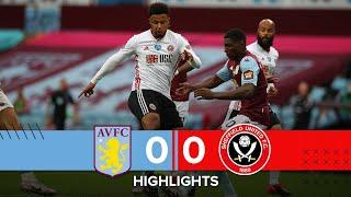 Aston Villa 0-0 Sheffield United | Premier League highlights