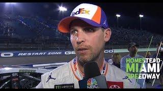 Denny Hamlin: 'Win a (expletive) full of races next year' | NASCAR at Homestead-Miami Speedway