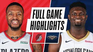 TRAIL BLAZERS at PELICANS | FULL GAME HIGHLIGHTS | February 17, 2021